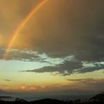 Il Golfo di Napoli visto da Fiaiano Barano - Ischia - Foto di Giovanni Mattera