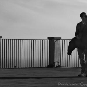 Foto di Giovanni Mattera - Procida 29/11/11 - da sinistra Angelo e Giorgio